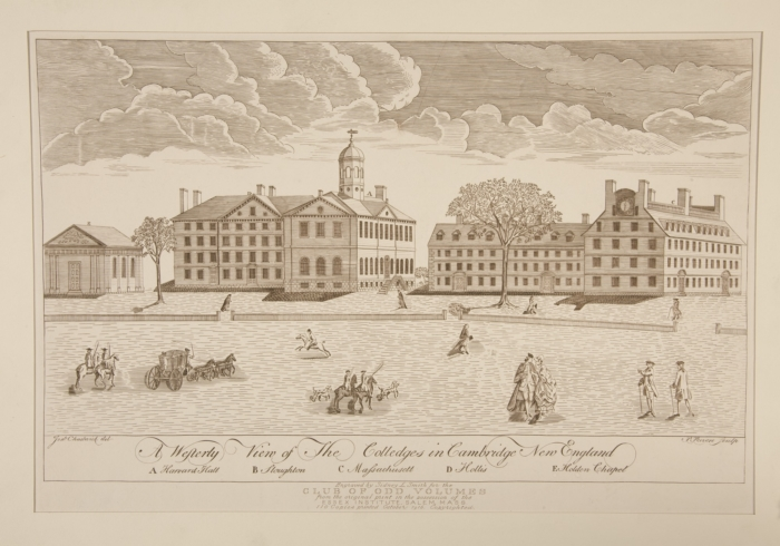 A-Westerly-View-of-the-Colledges-in-Cambridge-New-England-by-Paul-Revere